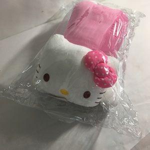 Hello Kitty plush with straps